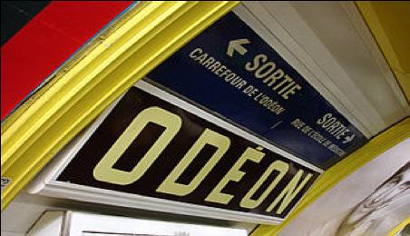 [陈德昌教授]:巴黎地铁 Odeon(下)