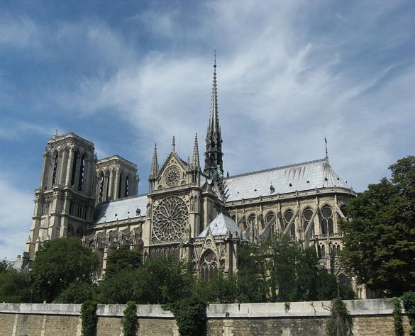 [陈德昌教授]:巴黎圣母院大教堂
